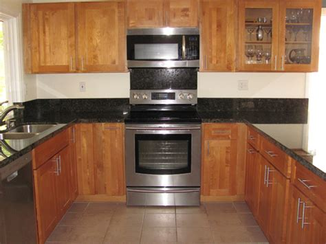 Honey Maple Cabinets by Golden Cabinets Inc