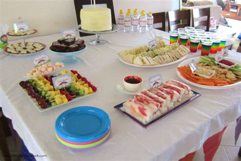 party food learn with play at home rainbow birthday party ideas