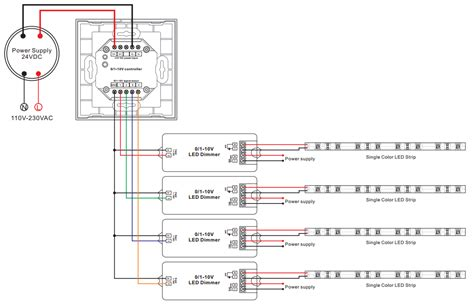0 10v dimmable led driver wiring diagram switching diode