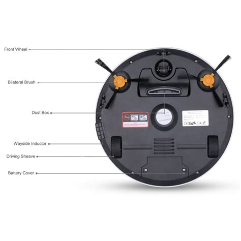 Robotic Vacuum Cleaner Sharp automatic smart vacuum cleaning robot clean robot