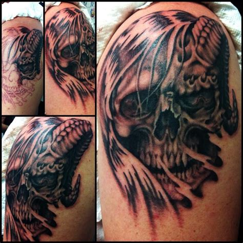 jojo tattoos by jojo miller dynamic ink eternal ink skull