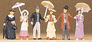 Preiser 12139 Passers By 1900s passers by model railroad figures ho scale 12139 by preiser 12139