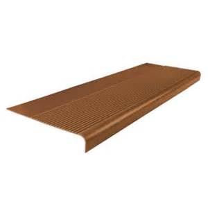Round Nose Stair Treads by Roppe Ribbed Profile Tan 12 1 4 In X 36 In Round Nose
