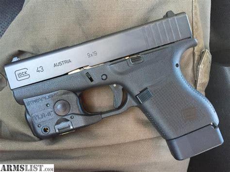 glock 43 laser light combo armslist for sale glock 43 with streamlight laser light