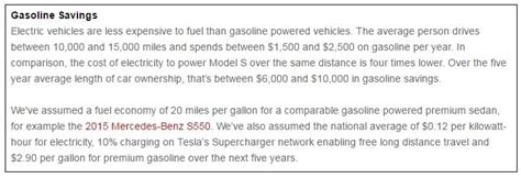 True Cost Of Ownership Tesla 5 Year Cost Of Ownership Tesla Autos Post