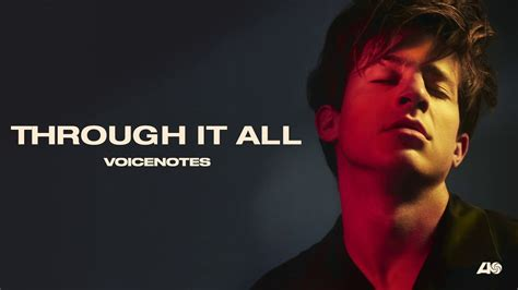 charlie puth through it all charlie puth through it all official audio youtube
