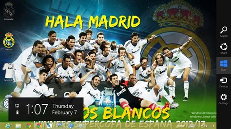 free download themes for windows 7 real madrid theme real madrid fc for win 8 and win 7 free all themes