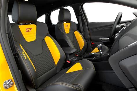 focus st seats 2015 ford focus st test motor trend