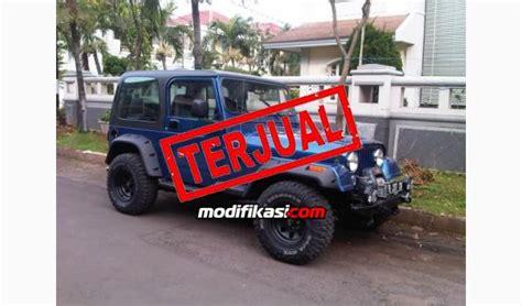 Lu Kota Mobil Jeep Cj7 jeep cj7 laredo 1984 restorasi