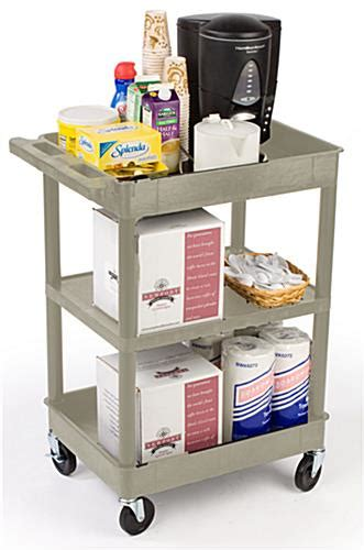 råskog utility cart utility carts three shelf design putty color