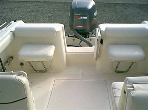 fishing boat jump seats has anyone seen a pursuit 2270cc with the aft jump seats