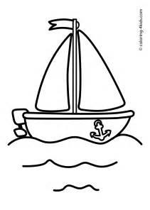 boat sailing ship coloring pages kids transportation transportation coloring pages