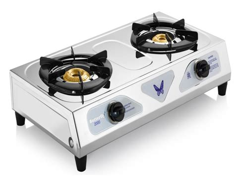 Oven Butterfly Gas stainless steel gas stove 3 burner price medium image for