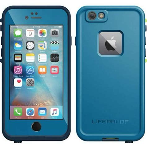 light blue iphone 6 lifeproof case lifeproof fre waterproof case for iphone 6s 6 free