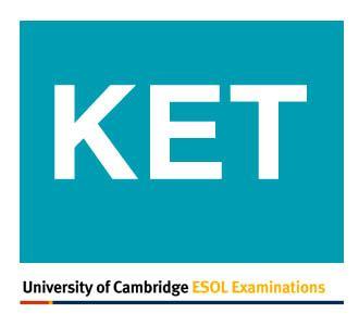 test inglese livello a2 ket