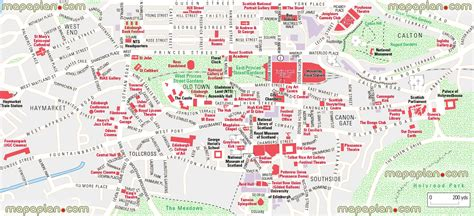 printable maps edinburgh maps update 21051488 tourist map of edinburgh