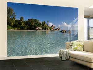 pics photos tropical wallpaper murals are wall or door tropical paradise peel amp stick wall mural