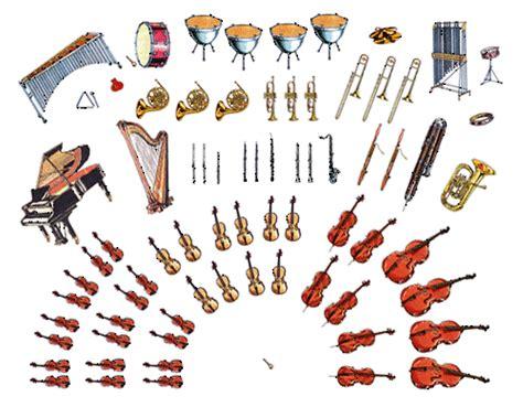 imagenes animadas instrumentos musicales aula de m 250 sica la orquesta sinf 243 nica