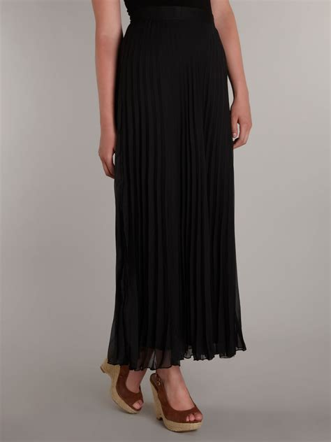 Frilly Skirt Black By Supernova House sodamix ruffle maxi skirt in black lyst