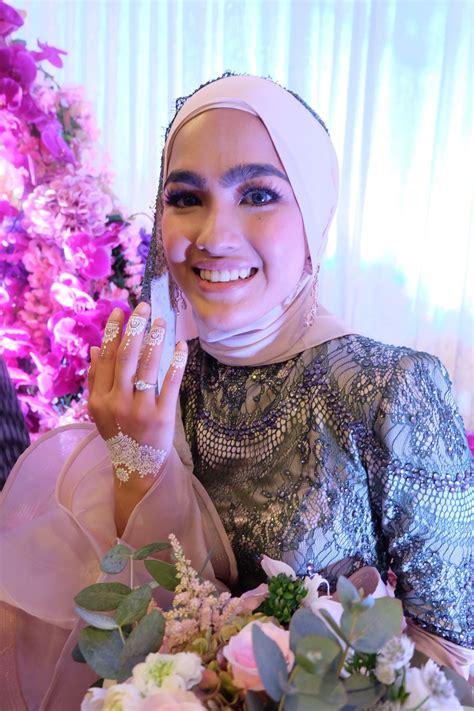 Baju Tunang Sufian Suhaimi gambar gambar di majlis pertunangan elfira loy dan sufian suhaimi era