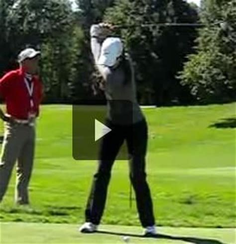 ladies golf swing slow motion 447 best images about golfing inc on pinterest