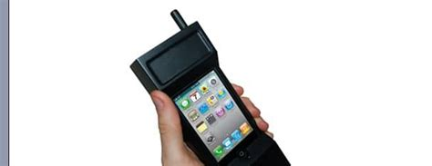 Will The Real Iphone Stand Up Chip by Iphone 4 Gets A Zack Morris Inspired 80 S For Real