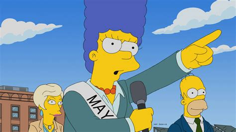 The Simpsons by The Simpsons Does Some Lightly Effective Political Satire