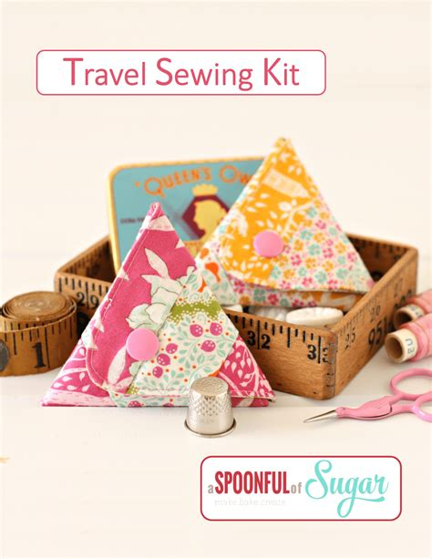 pattern sewing kit travel sewing kit pattern a spoonful of sugar