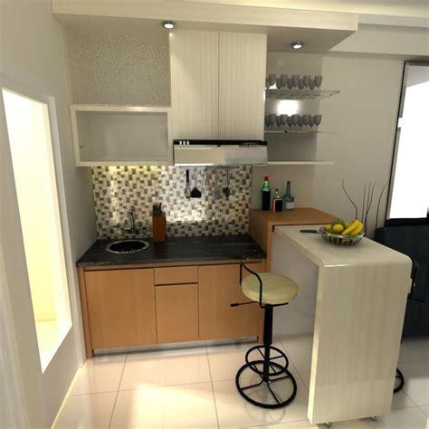 meja bar  dapur rumah minimalis gambar  home design ideas   rumah dapur