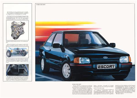 ford brochures 1987 ford brochure