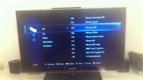 Auto Tuning A Samsung Tv by Samsung Series 6 Tv How To Move A Channel Change