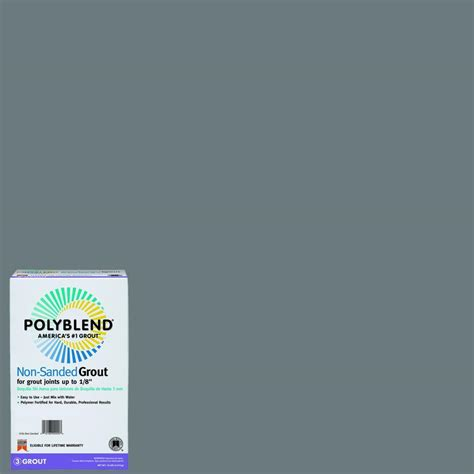 custom building products grout colors custom building products polyblend 165 delorean gray 10