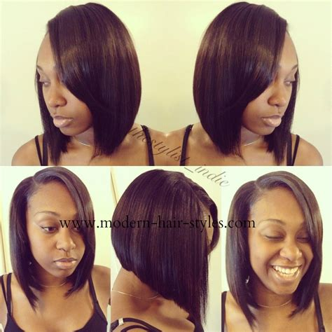 bob with hair bonding in the front black bob hair styles quick weaves invisible parts and
