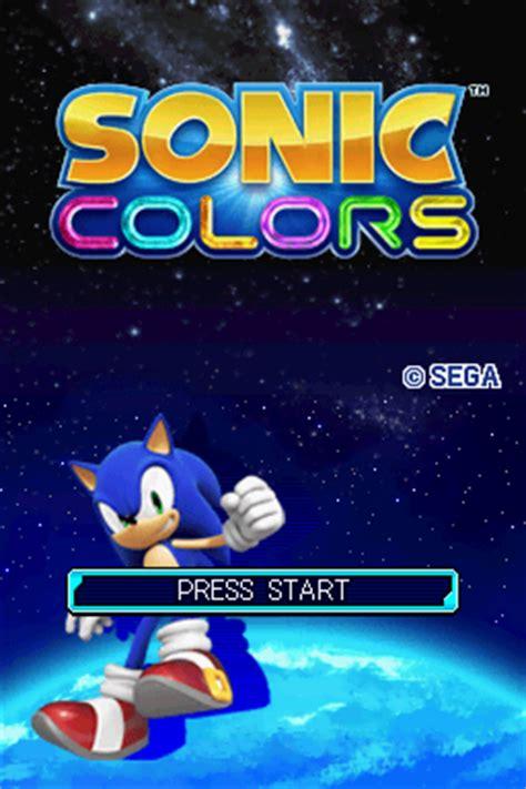 sonic colors ds sonic colors u rom