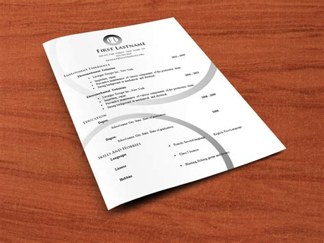 Cv Template To And Edit Free Cv Templates To Edit 554 To 560 Free Cv Template Dot Org