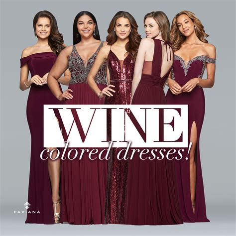 wine colored dress wine colored dresses glam gowns