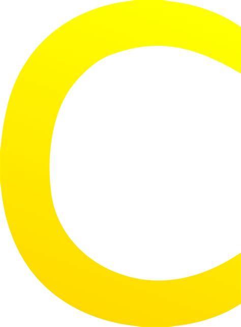 The Letter C   Free Clip Art