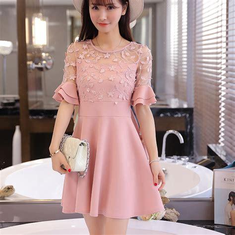 summer 2016 new korean style fashion formal dresses