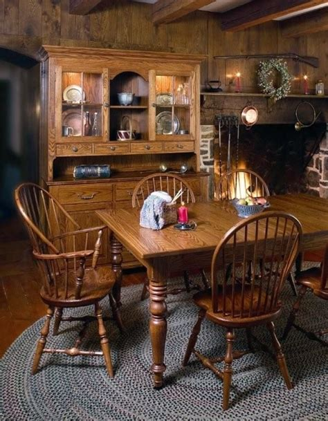 Early American Dining Room Furniture Amish Early American Classic Dining Room Chair Amish Early American And