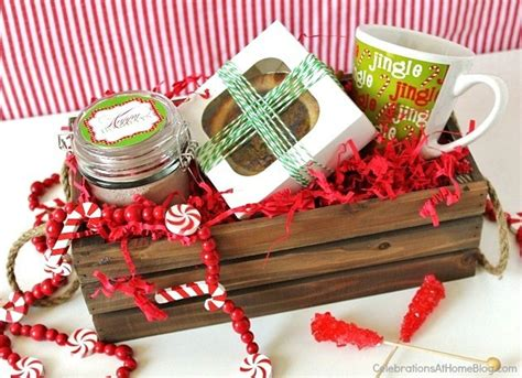 what to put in a christmas basket sweet gifts celebrations at home