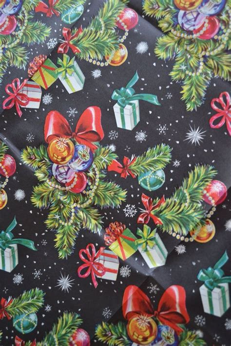 1334 best images about christmas vintage gift wrap on