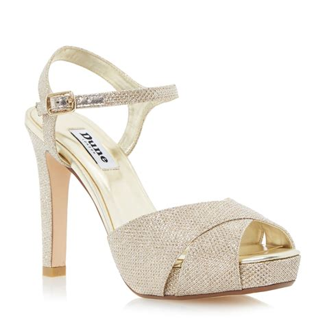 high heel sandals gold gold high heels dune gold high heel sandals