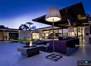 Modern Homes Hopen Place Residence In Los Angeles California Is A