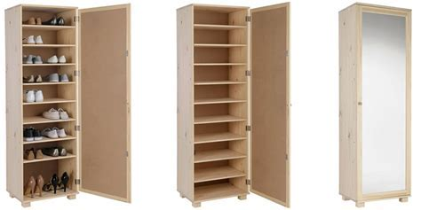 Top 5 Best Mirrored Shoe Cabinets   Slim and Tall Designs