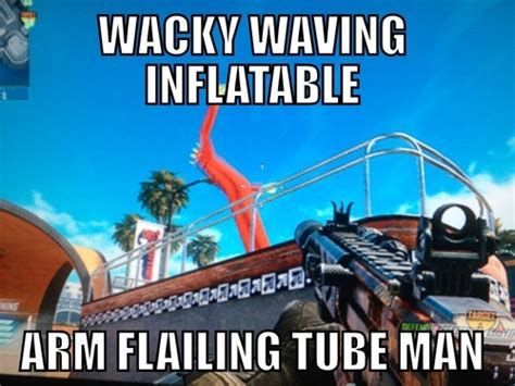 video games wacky waving inflatable arm flailing tube