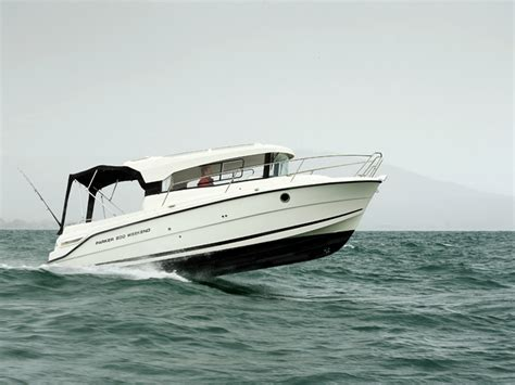 parker boats review review parker 800 weekend diesel trade boats australia