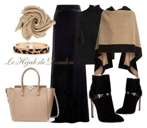 Ikn Dress Muslim Burbery my polyvore finds