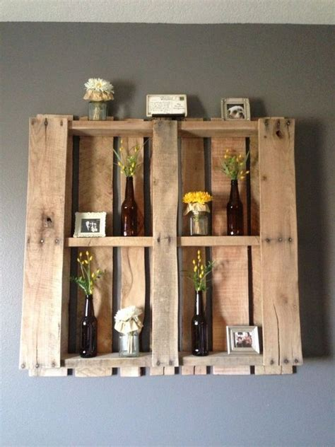 ingenious 21 wooden pallet shelves ideas small house decor