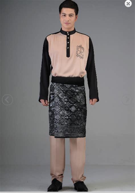 design baju batik lelaki terkini pin fesyen baju koleksi sulaman manik dan labuci pada