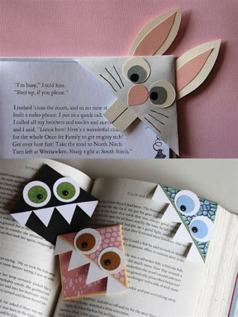 Handmade Bookmarks Ideas For - best 25 bookmarks ideas on kid craft